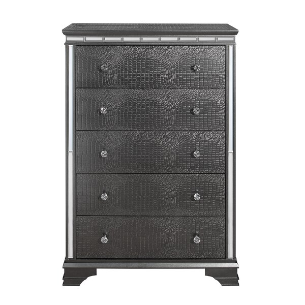 Landgraf 5 Drawer Chest by Everly Quinn