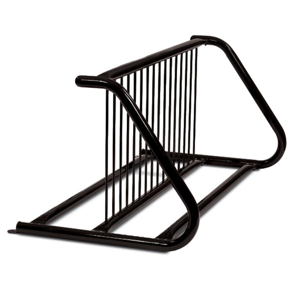 Traditional 14 Bike Double-Side Freestanding Bike Rack by Anova