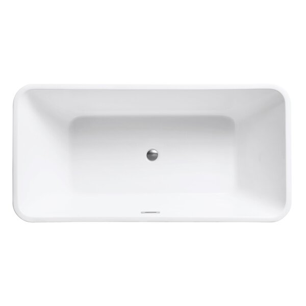 63 H x 32 W Soaking Bathtub by Avanity