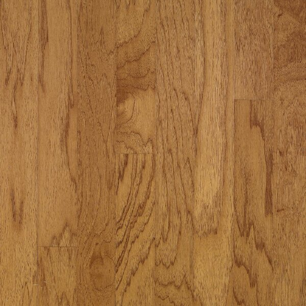 Turlington 5 Engineered Hickory Hardwood Flooring in Golden Spice by Bruce Flooring