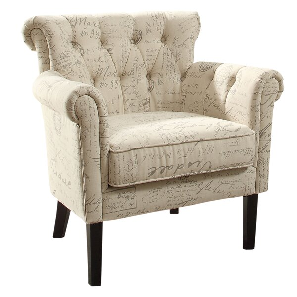 Schofield Armchair by Three Posts