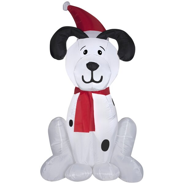 Dalmation Puppy Christmas Inflatable by The Holiday Aisle