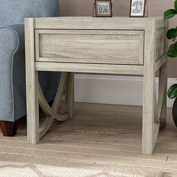 Tippett End Table by Gracie Oaks Gracie Oaks