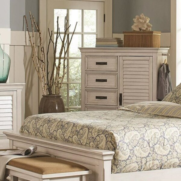 Goss 5 Drawers Combo Dresser by Rosecliff Heights