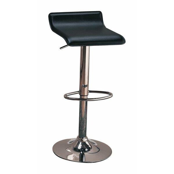 Woosley Backless Seat Adjustable Height Swivel Bar Stool (Set of 2) by Orren Ellis