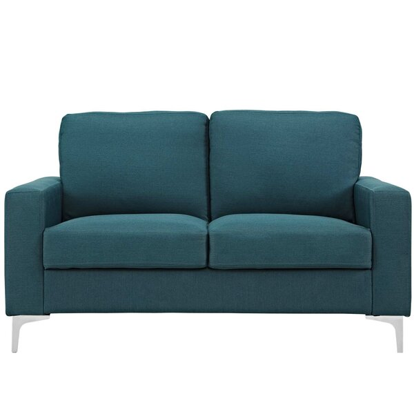 Discover Luxurious Hollander Loveseat by Orren Ellis by Orren Ellis