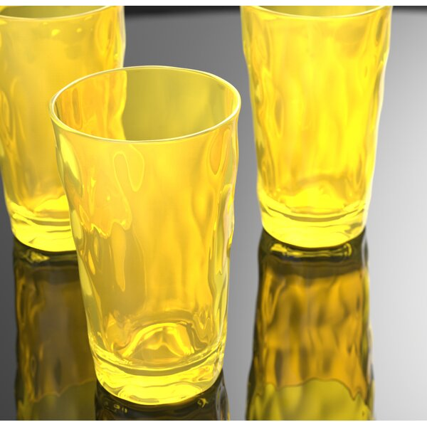 24 oz. Plastic Drinking Glass (Set of 6) by QGoods Inc.