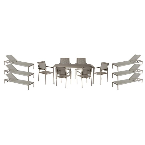 Dorsey 13 Piece Patio Set by Wade Logan
