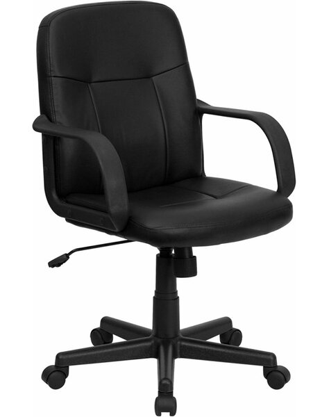 Krouse Mid-Back Executive Chair by Symple Stuff