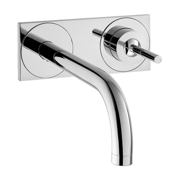 Axor Uno Wall Mounted Faucet with Base Plate by Ax