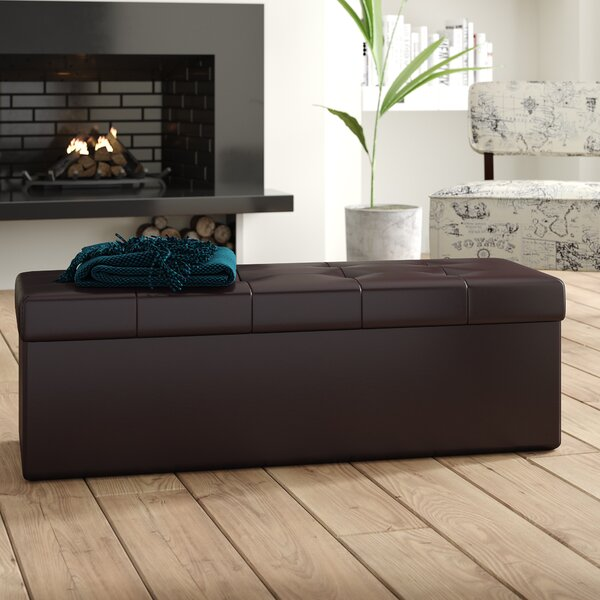 Lonon Storage Ottoman by Latitude Run