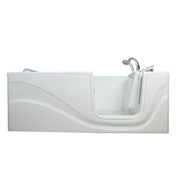Lay Down Long Air Walk-In Tub by Ella Walk In Baths