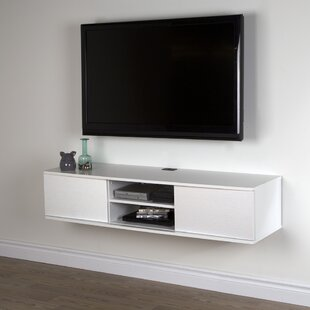 Floating Media Console Shelf | Wayfair