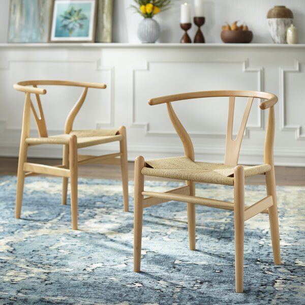 Neerav Solid Wood Dining Chair (Set of 2) by Union Rustic