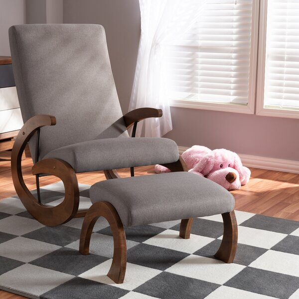 Nunan Rocking Chair By Ivy Bronx
