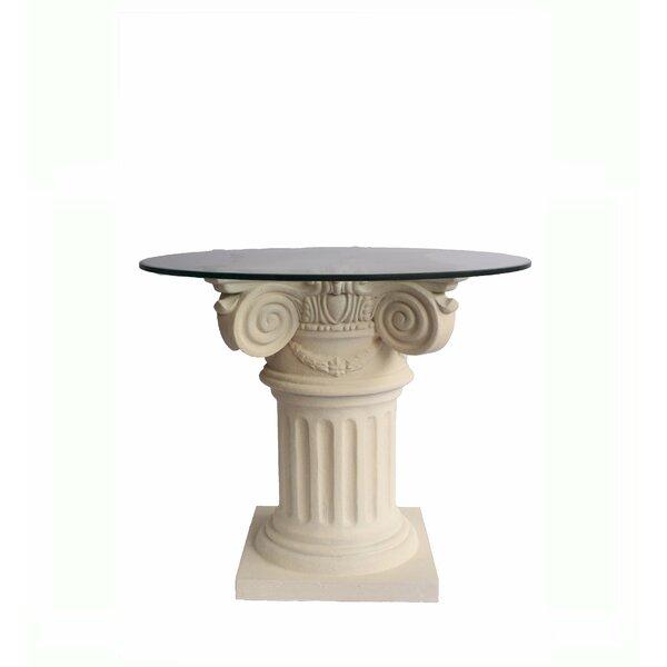 Erastus Glass Dining Table by Astoria Grand
