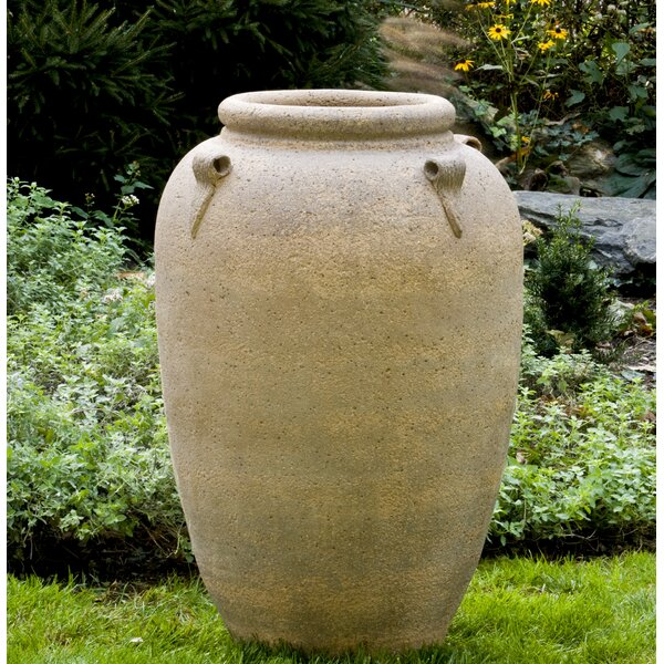 Wilda 4 Handle Jar Terra Cotta Pot Planter by Fleur De Lis Living