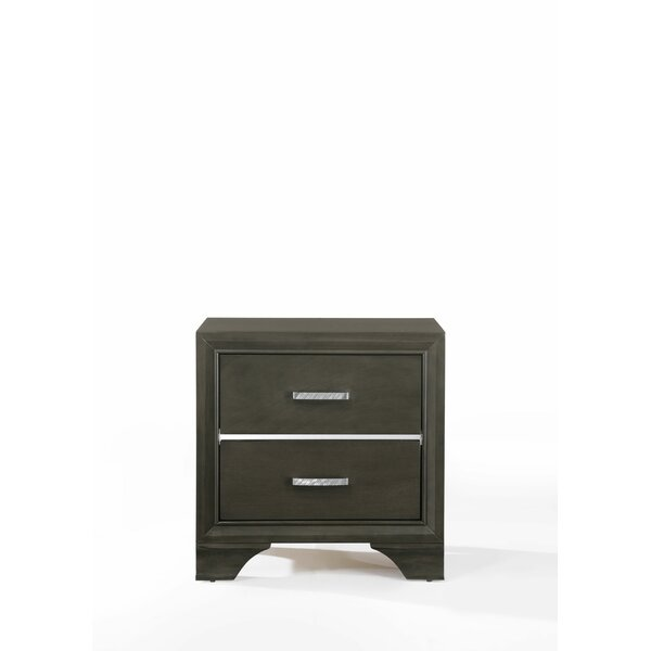Anadolu 2 Drawer Nightstand by Ivy Bronx
