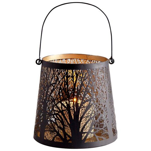 Forest Glow Metal Lantern by Cyan Design