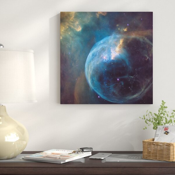 The Bubble Nebula (NGC 7635) Graphic Art on Wrapped Canvas by East Urban Home
