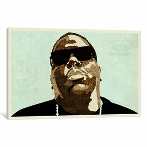 'Biggie' Graphic Art on Wrapped Canvas by East Urban Home