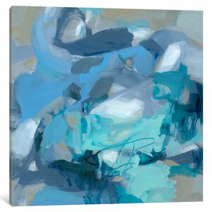 'Abstract I' Painting Print on Canvas by East Urban Home