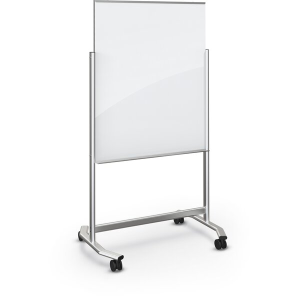 Visionary Move Mobile Magnetic Glass Board by Best-Rite®