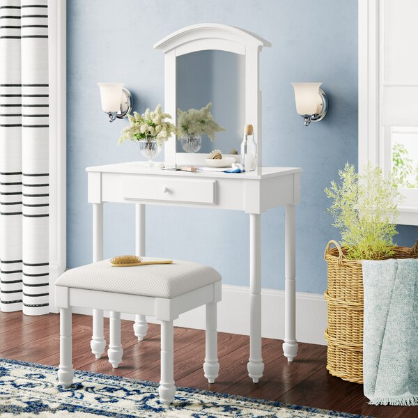 Remsen Vanity Set with Mirror by Darby Home Co
