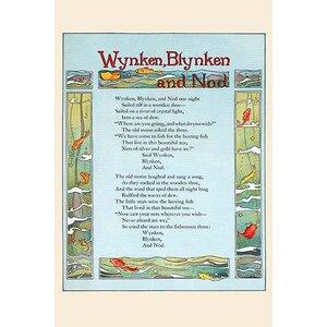 'Wynken, Blynken, and Nod' by Eugene Field Graphic Art by Buyenlarge