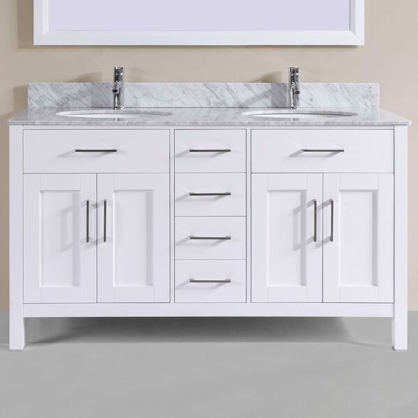 "60"" Double Bathroom Vanity Set by Belvedere Bath"