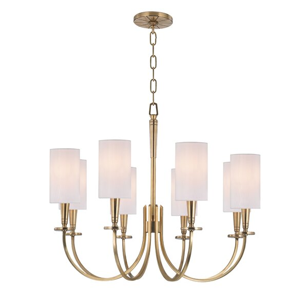 Regents 8-Light Shaded Classic / Traditional Chandelier by Canora Grey Canora Grey