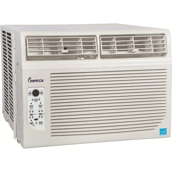 8,000 BTU Window Air Conditioner with Remote by Impecca USA