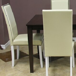 Blazing Parsons Upholstered Dining Chair (Set of 8) by Warehouse of Tiffany Warehouse of Tiffany