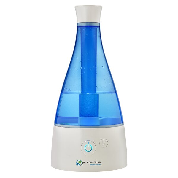 PureGuardian 0.5 Gal. Cool Mist Ultrasonic Tower Humidifier by Guardian Technologies