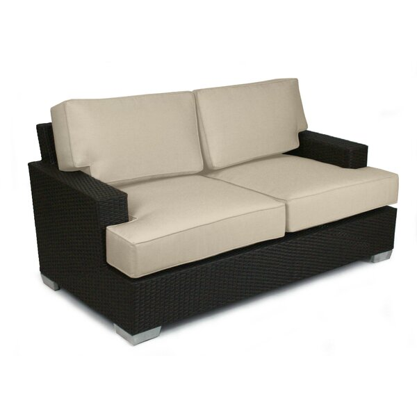 Sienna Loveseat with Sunbrella Cushions by Axcss Inc.