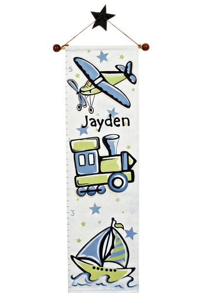 Personalized Transportation Growth Chart by Renditions by Reesa