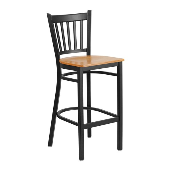 St. Nicholas 28.75 Bar Stool by Winston Porter