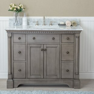 Bathroom Vanities Joss Main - 42 gray bathroom vanity