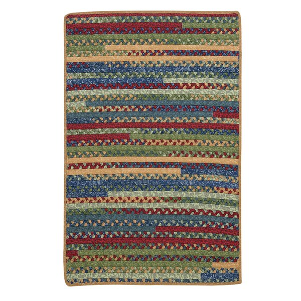 Market Mix Rectangle Sea Area Rug by Colonial Mills