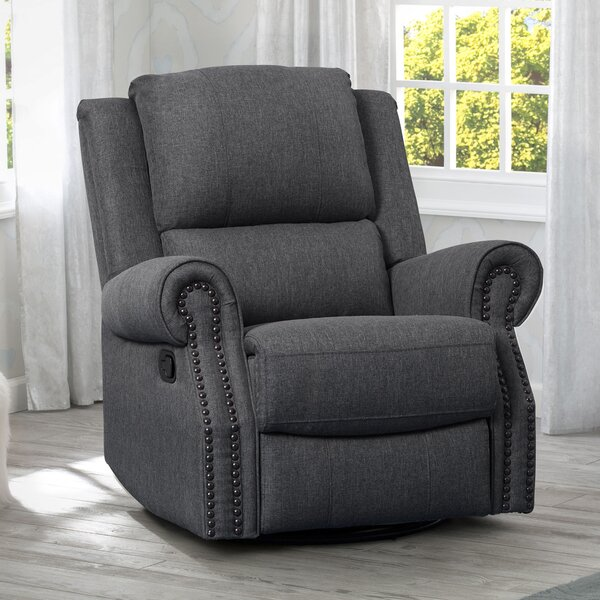 Dylan Swivel Reclining Glider by Delta Children