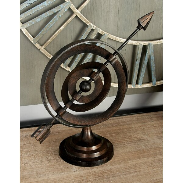 Kesler Decorative Armillary Sculpture by Charlton Home