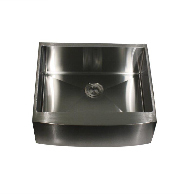 pro series 24   x 22 5   single bowl undermount kitchen sink nantucket sinks pro series 24   x 22 5   single bowl undermount      rh   wayfair com