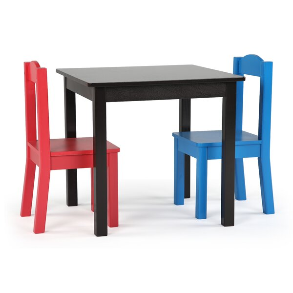 Thane Kids 3 Piece Writing Table and Chair Set by Zoomie Kids