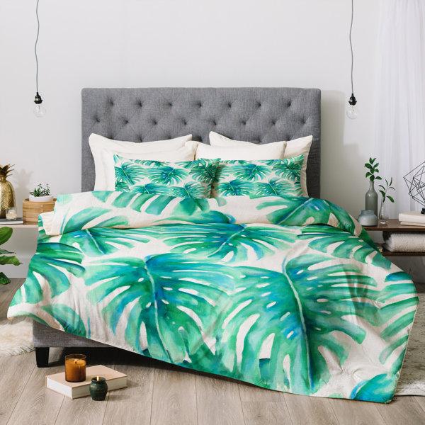 Jacqueline Maldonado Paradise Palms Comforter by East Urban Home