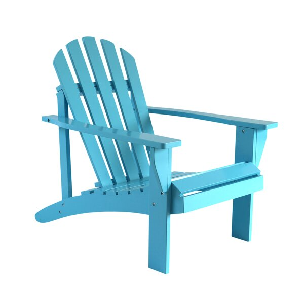 Goodrow Wood Adirondack Chair by Highland Dunes Highland Dunes