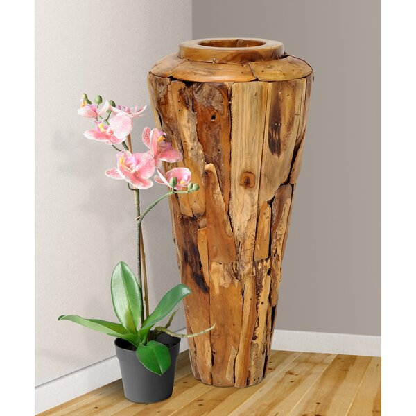 Brook Hollow Driftwood Floor Vase by Foundry Select