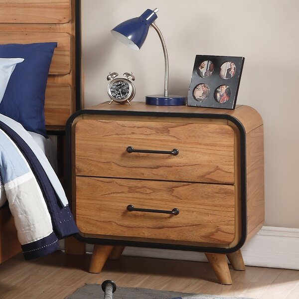 Gipson 2 Drawer Nightstand by Ivy Bronx