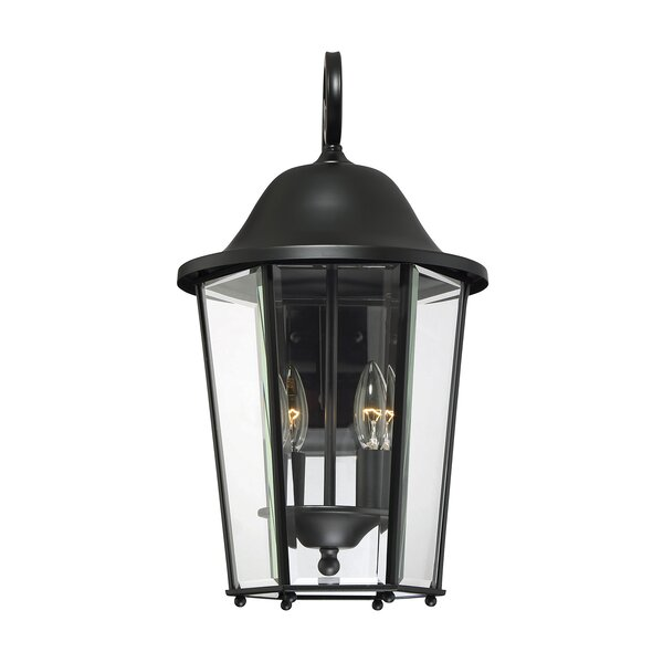 Raritan 2-Light Outdoor Wall Lantern by Charlton Home