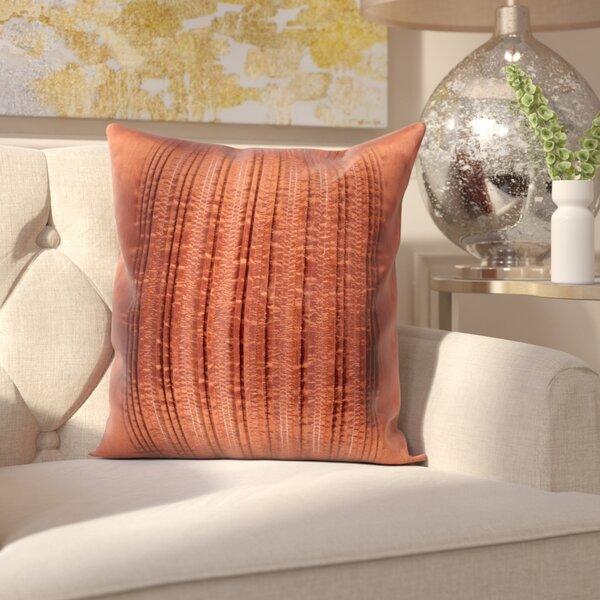 Burlington Elegant Pleated Throw Pillow by House of Hampton