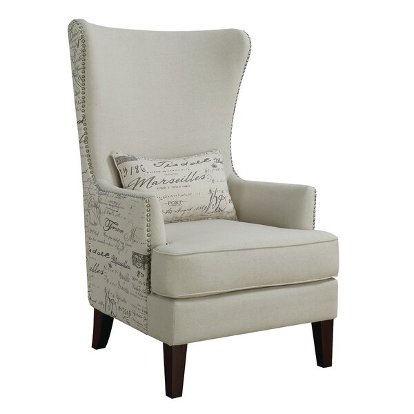 Sonali Wingback Chair by Ophelia & Co.